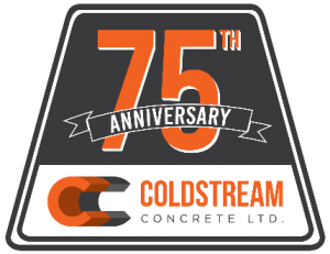 Coldstream Concrete Ltd. celebrating 75 years