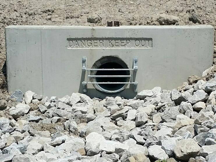 Headwall Grates 804 05 Cold Stream Concrete