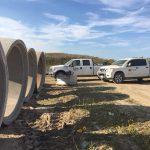 Coldstream Concrete custom heavy precast and site servicing at Edgevally Subdivision