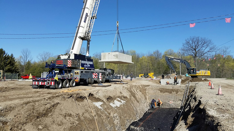 Precast Concrete Ontario | Water Reservoir
