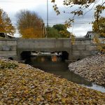 Culvert Bradley Creek Aylmer Coldstream Concrete heavy precast