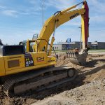 Sewer upgrades & road widening | Coldstream Concrete