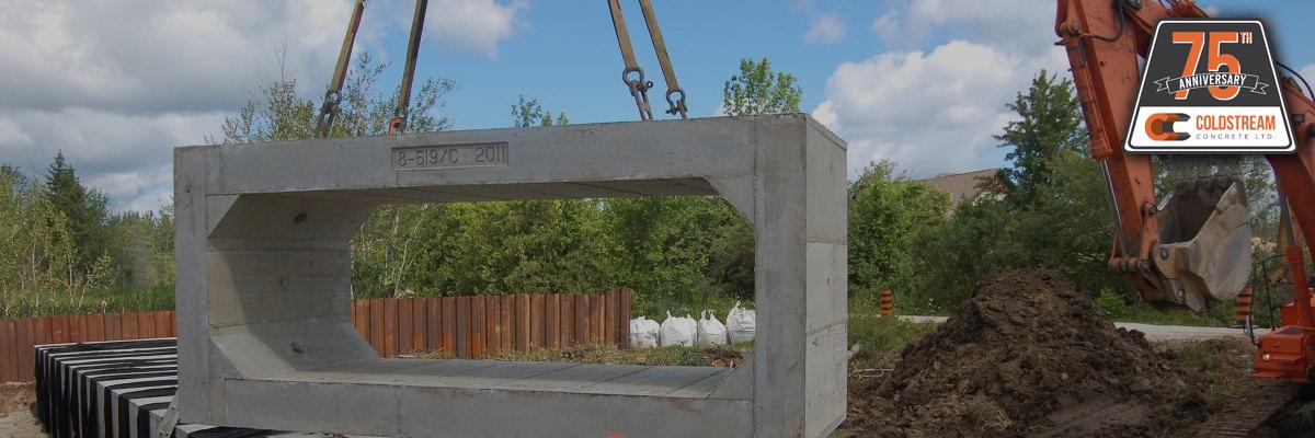 Heavy Precast Concrete Culverts Coldstream Concrete
