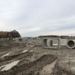 Foxwood subdivision london ontario infrastructure heavy precast concrete box culverts pipe drainage